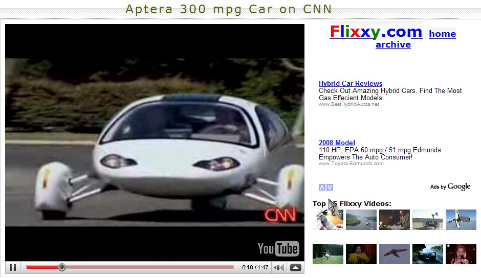 new 300 mile per gallon car doug lawrence 39 s catholic weblog. Black Bedroom Furniture Sets. Home Design Ideas