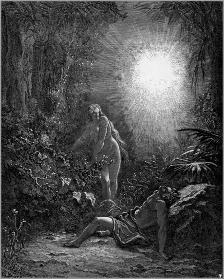 gustave_dore_bibel_the_formation_of_eve