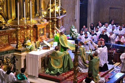 Pontifical solemn high mass st. peters burke