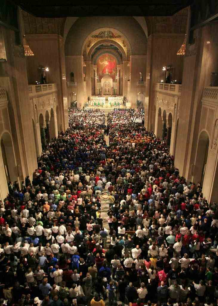 Basilica of the national shrine of the immaculate conception in