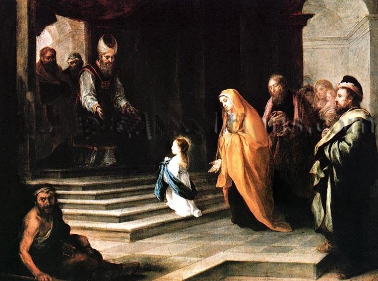 Memorial of the presentation of the blessed virgin mary | living.
