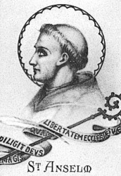 """st anselms belief in the existence of god Other articles where proslogion is discussed: saint anselm of canterbury: early  life and career: his  originally titled fides quaerens intellectum (""""faith seeking  understanding""""), established the ontological argument for the existence of god."""