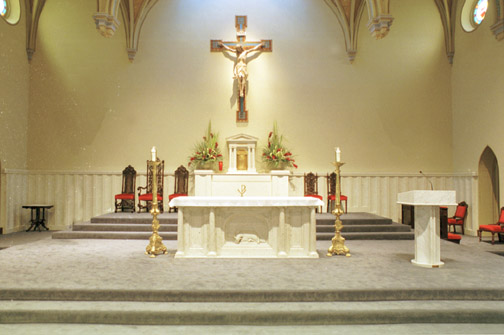 Lub Caij Tos Huab Tais Altar