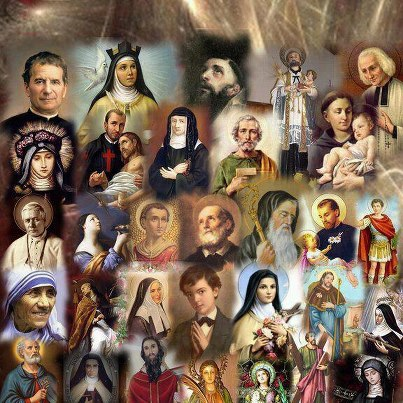 "Feeling ""down""? Enjoy listening to ""The Litany of the Saints"" in English or  Latin. | Doug Lawrence's Catholic Weblog"