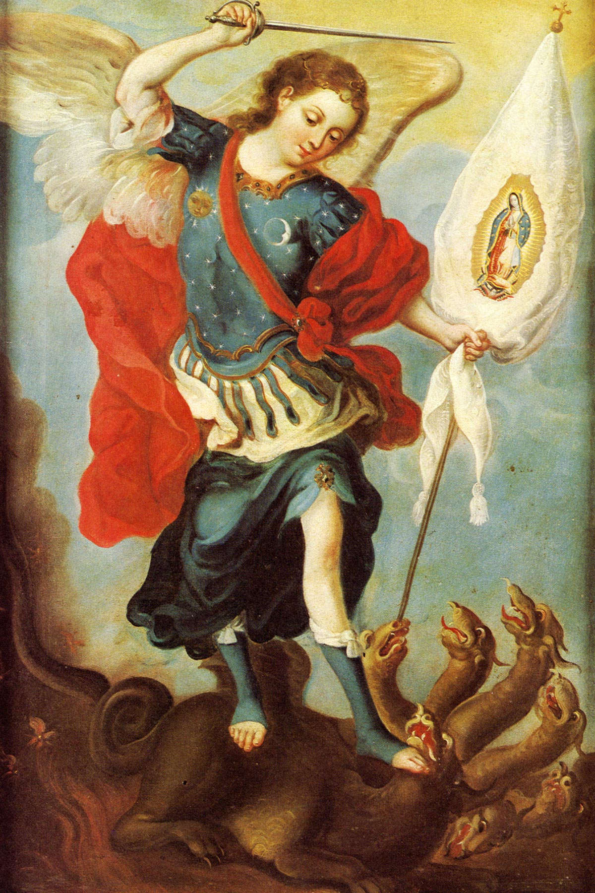 essay on st michael the archangel Prayer to saint michael the archangel st michael the archangel, defend us in battle be our defense against the wickedness and snares of the devil.