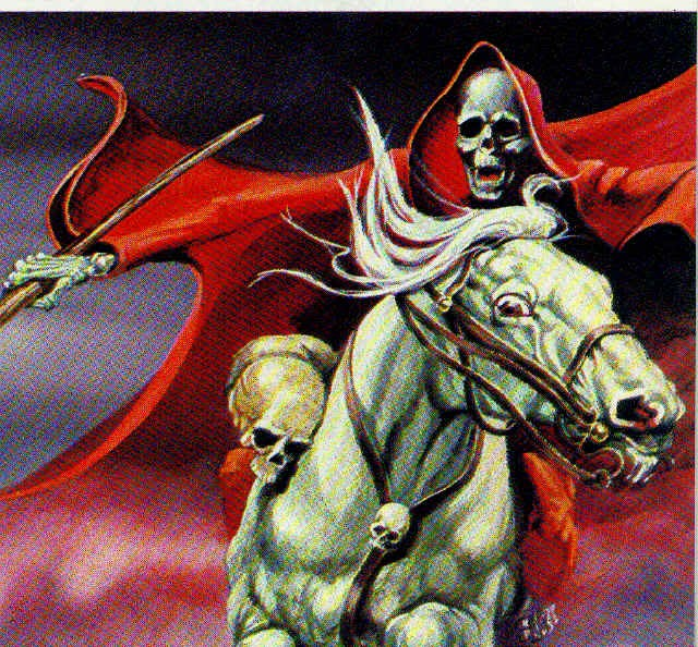 The Horsemen of Revelation: The Red Horse of War