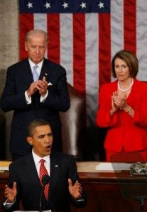 Barack Obama, Joe Biden, Nancy Pelosi